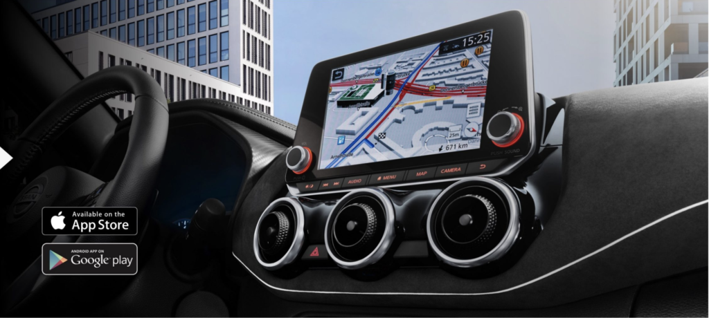 Nuevo Nissan JUKE compatible con Apple CarPlay® y Android Auto